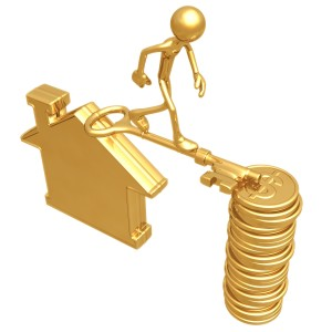 note- we won't actually make you balance on a giant key from your house to a stack of money to get a bridge loan